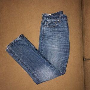 J Crew men's slim fit, straight leg 770 jeans